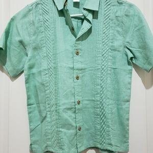 Linen shirt Janie and Jack Boys sz8